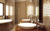 Bathroom Wallpaper 18 Design Ideas