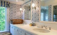 Bathroom Wallpaper Blue 10 Picture