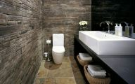 Bathroom Wallpaper Blue 14 Ideas