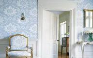 Bathroom Wallpaper Blue 17 Decoration Idea