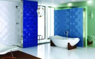 Bathroom Wallpaper Blue 23 Renovation Ideas