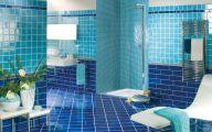 Bathroom Wallpaper Blue 8 Home Ideas