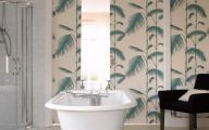 Bathroom Wallpaper Designs 2 Arrangement
