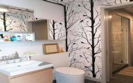 Bathroom Wallpaper Ideas 4 Inspiration