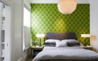 Bedroom Wallpaper Accent Wall  16 Decoration Idea