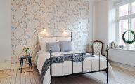 Bedroom Wallpaper Accent Wall  29 Decoration Idea