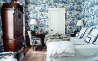 Bedroom Wallpaper And Matching Bedding  12 Inspiration