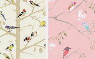 Bedroom Wallpaper Birds  16 Decoration Inspiration