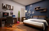 Bedroom Wallpaper Blue  14 Ideas