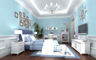 Bedroom Wallpaper Blue  15 Architecture