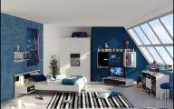 Bedroom Wallpaper Blue  17 Inspiration