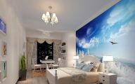 Bedroom Wallpaper Blue  21 Design Ideas