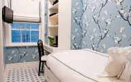 Bedroom Wallpaper Blue  3 Decoration Inspiration
