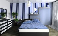 Bedroom Wallpaper Blue  30 Decoration Idea