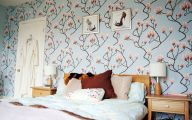 Bedroom Wallpaper Blue  8 Home Ideas
