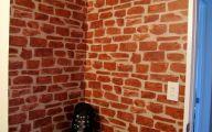 Bedroom Wallpaper Brick  22 Ideas