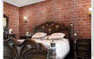 Bedroom Wallpaper Brick  24 Designs