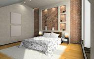 Bedroom Wallpaper Brick  32 Ideas