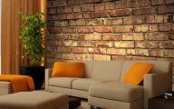 Bedroom Wallpaper Brick  35 Design Ideas