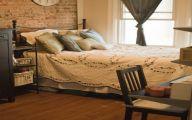Bedroom Wallpaper Brick  40 Decor Ideas