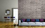 Bedroom Wallpaper Brick  5 Architecture