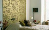Bedroom Wallpaper Decor  19 Decoration Idea