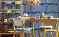 Blue Dining Room Wallpaper  1 Renovation Ideas