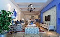 Blue Dining Room Wallpaper  12 Picture
