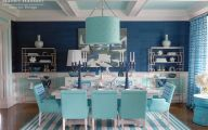Blue Dining Room Wallpaper  15 Home Ideas