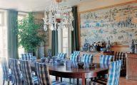Blue Dining Room Wallpaper  16 Home Ideas