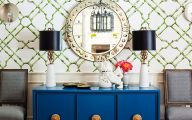Blue Dining Room Wallpaper  21 Inspiring Design