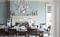 Blue Dining Room Wallpaper  5 Picture