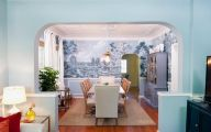 Blue Dining Room Wallpaper  6 Designs