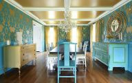 Blue Dining Room Wallpaper  8 Ideas
