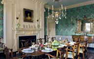 Country Dining Room Wallpaper  21 Decor Ideas