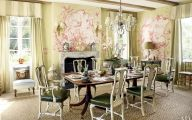 Country Dining Room Wallpaper  7 Renovation Ideas