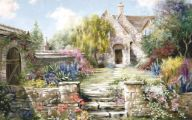 Country Garden Wallpaper 27 Decoration Inspiration