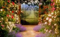 Country Garden Wallpaper 3 Inspiring Design