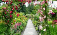 Country Garden Wallpaper 33 Renovation Ideas