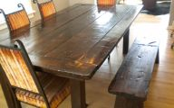 Dining Room Bench  19 Picture