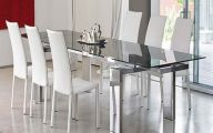 Dining Room Glass Table  3 Decoration Idea
