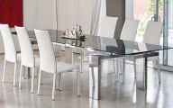 Dining Room Glass Table  33 Architecture