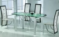 Dining Room Glass Table  4 Architecture