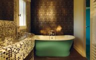 Easy Bathroom Wallpaper 3 Home Ideas