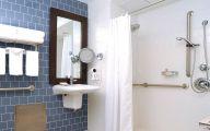 Elegant Bathroom Wallpaper 1 Design Ideas