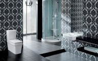 Elegant Bathroom Wallpaper 19 Inspiration