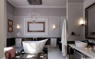 Elegant Bathroom Wallpaper 21 Inspiring Design