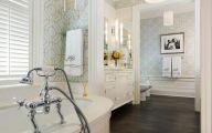 Elegant Bathroom Wallpaper 33 Designs