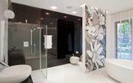 Elegant Bathroom Wallpaper 40 Decoration Idea