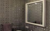 Elegant Bathroom Wallpaper 6 Ideas
